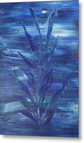 Blue Metal Print by Nico Bielow