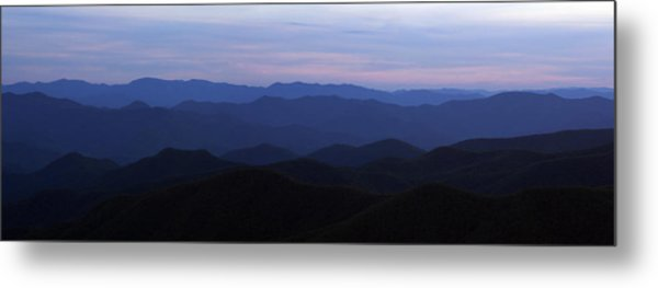 Blue Ridge Blues Metal Print