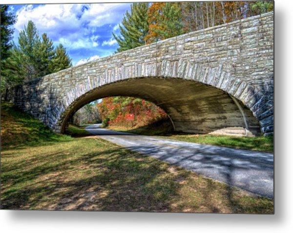 Blue Ridge Bridge Metal Print by Bob Jackson