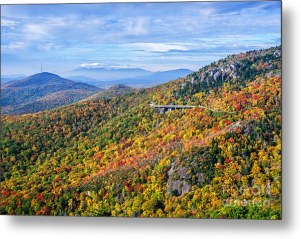 Blue Ridge Colors Metal Print
