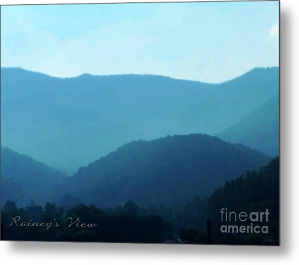 Blue Ridge Mountains Metal Print by Lorraine Heath