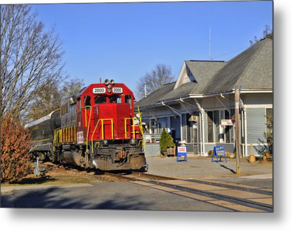 Blue Ridge Scenic Railway Metal Print