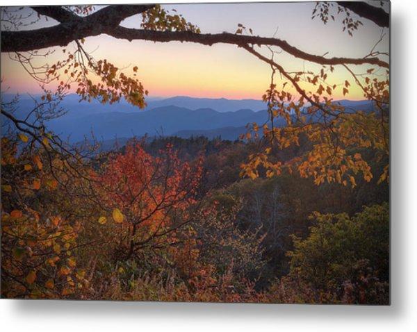 Blue Ridge Sunset Metal Print