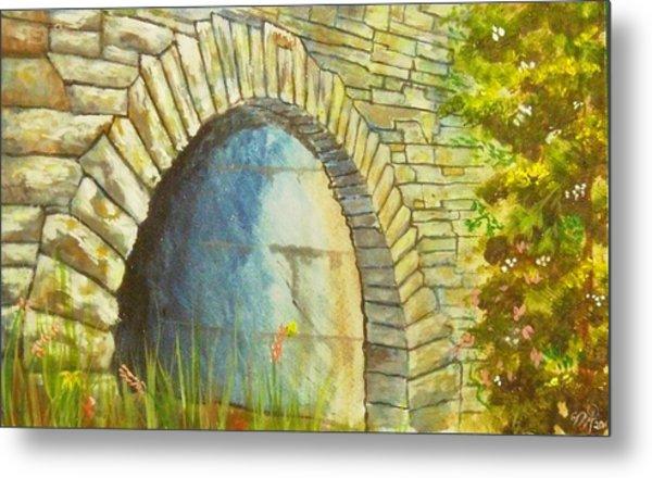 Blue Ridge Tunnel Metal Print