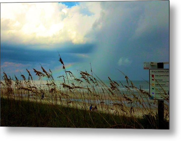 Blue Sky Above Metal Print