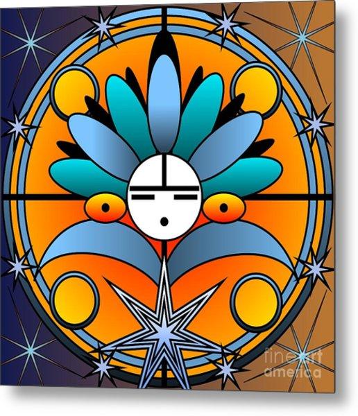 Blue Star Kachina 2012 Metal Print