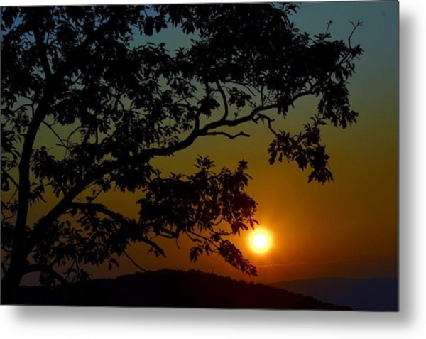 Blueridge Sunset Metal Print