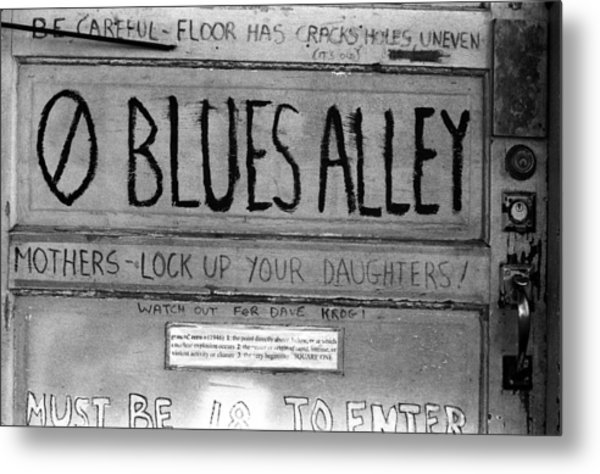Blues Alley Metal Print
