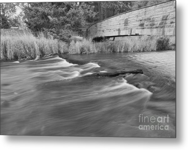 Blur Motion Stream  Metal Print