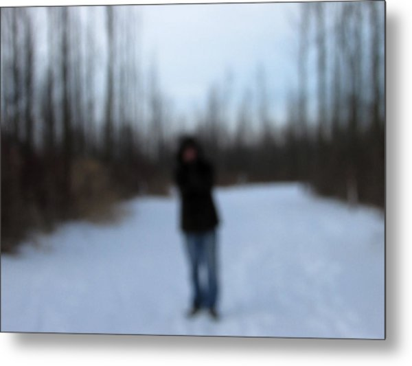 Blurred To Distraction Metal Print