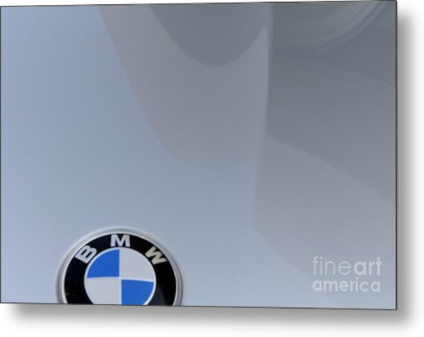 BMW Metal Print by Andres LaBrada