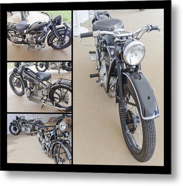 Bmw Art Deco Bikes Metal Print
