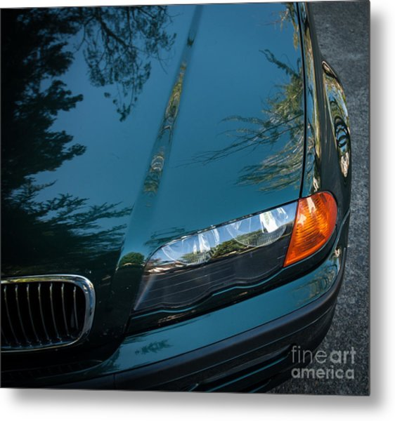 Bmw Fender Metal Print
