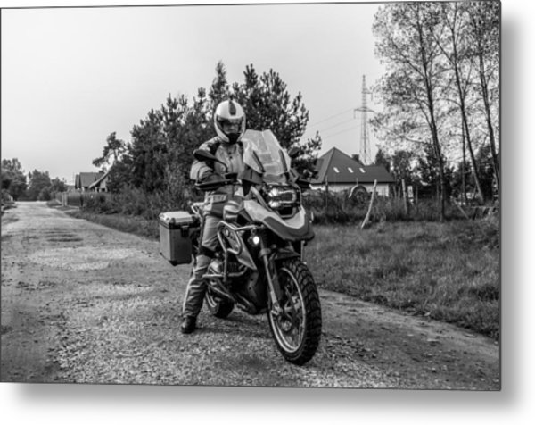 Bmw R 1200 Gs Metal Print