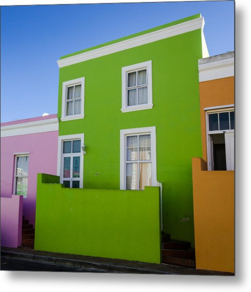 Bo Kaap Colour Metal Print