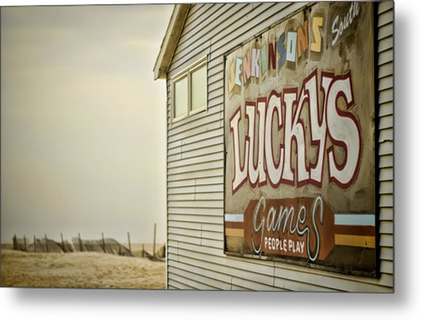 Boardwalk Empire Metal Print