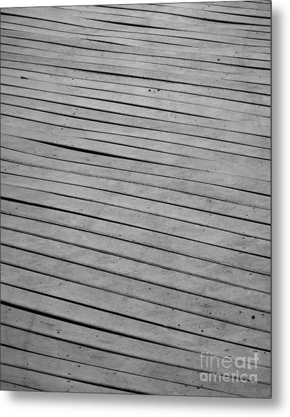 Metal Print featuring the photograph Boardwalk by Kristen Fox