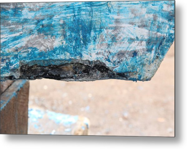 Metal Print featuring the photograph Boat Bites by Debbie Cundy