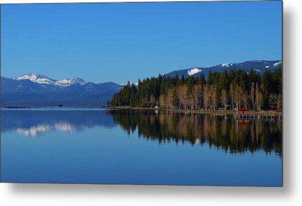 Boat House Lake Tahoe Metal Print