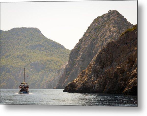 Boat Trip Metal Print