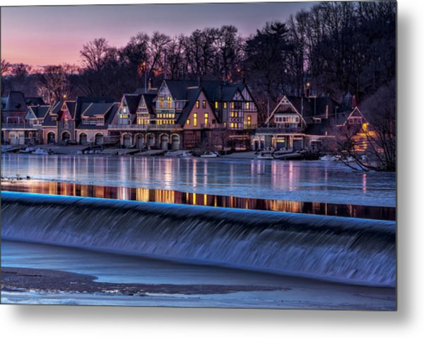 Boathouse Row Metal Print