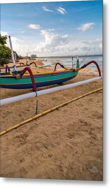 Boats - Bali Metal Print