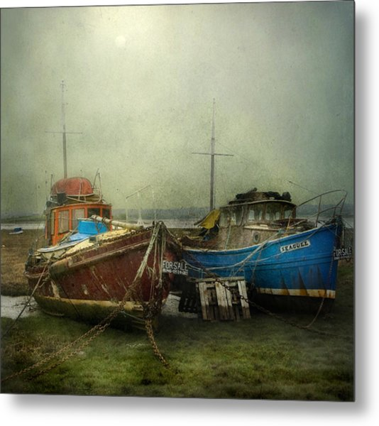 Boats For Sale Metal Print