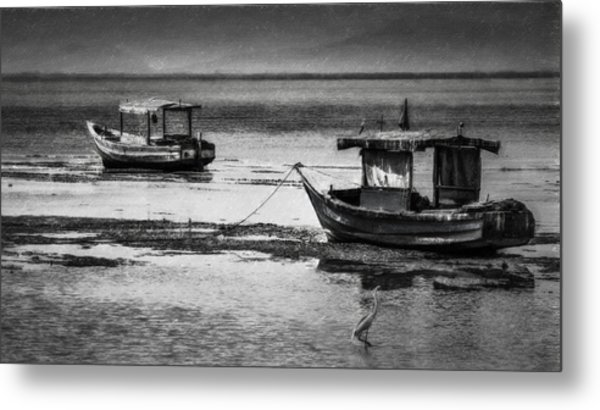 Boats Of Trinidad Metal Print