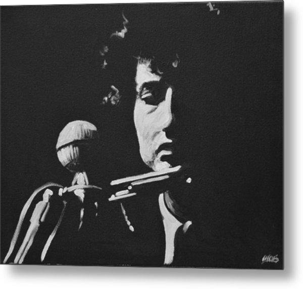 Bob Dylan Metal Print by Melissa O'Brien