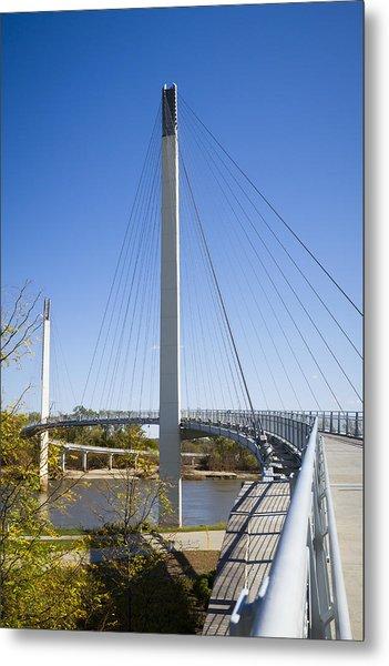 Bob Kerrey Pedestrian Bridge Metal Print