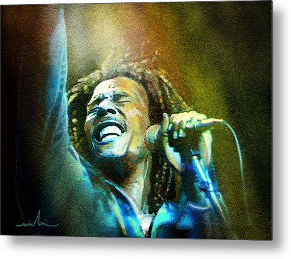 Bob Marley 06 Metal Print