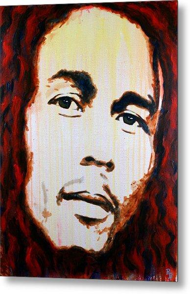 Bob Marley Reggae Icon Metal Print