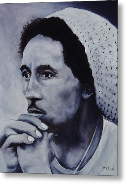 Bob Marley Metal Print by Stefon Marc Brown