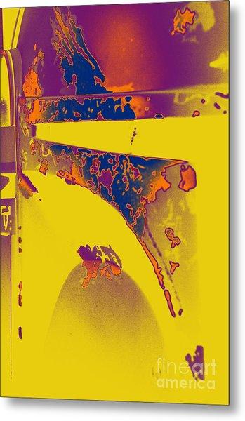 Boba Fett Helmet 6 Metal Print by Micah May