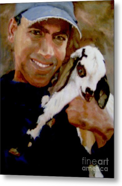 Bobby And The Kid Metal Print by Sharon Burger