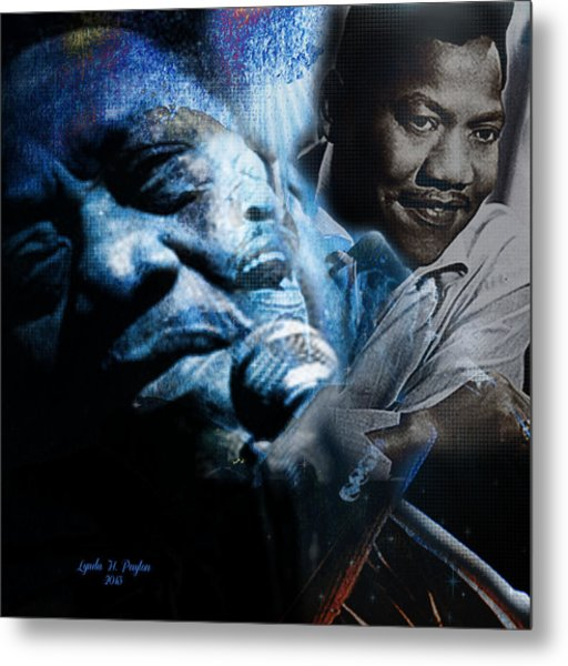Bobby Blue Bland Metal Print by Lynda Payton