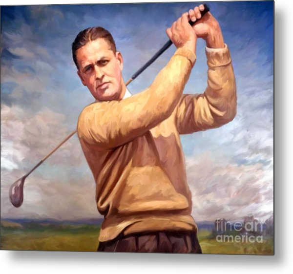 bobby Jones Metal Print