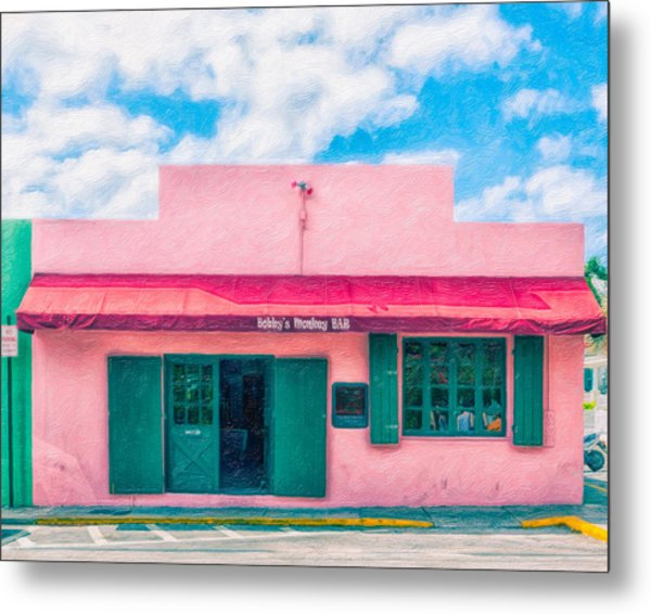 Bobby's Monkey Bar Metal Print