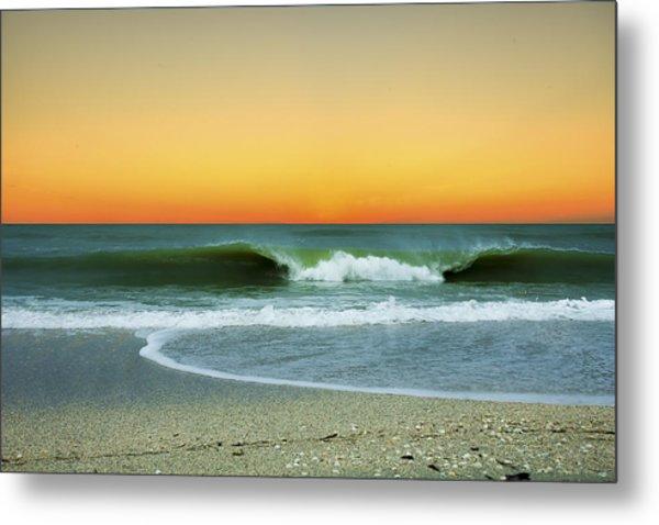 Boca Sunset Metal Print