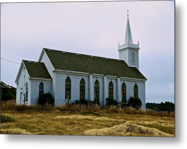 Bodega Church Metal Print