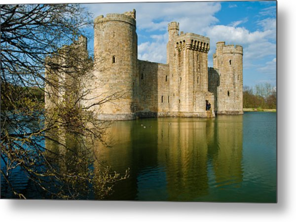 Bodiam Castle Metal Print by David Ross
