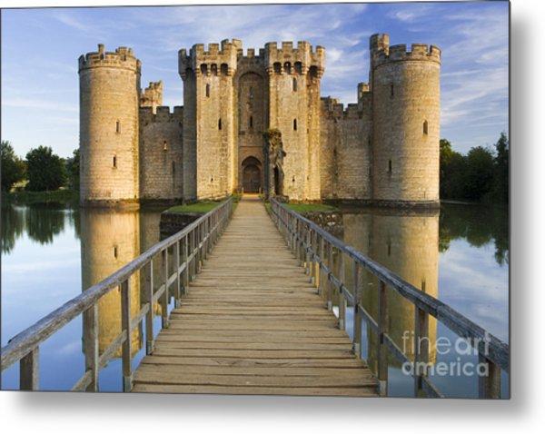 Bodiam Castle Metal Print by Derek Croucher