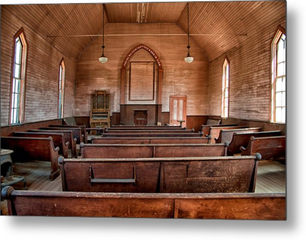 Bodie Church Metal Print