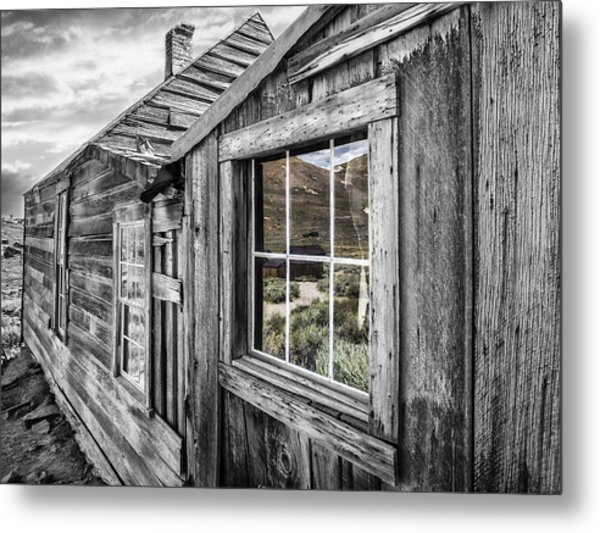 Bodie Gold Mining Ghost Town Metal Print