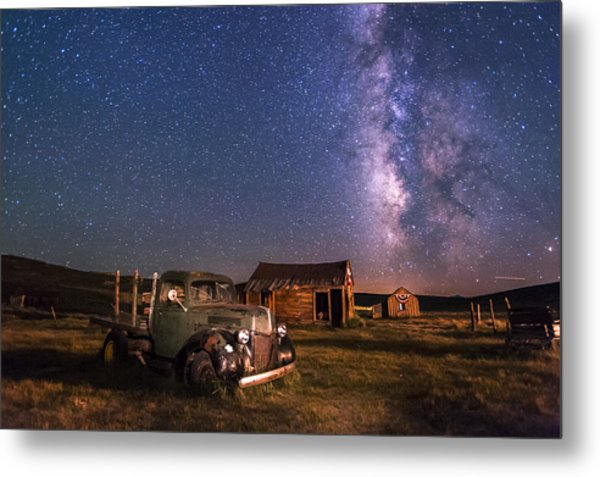 Bodie Nights Metal Print