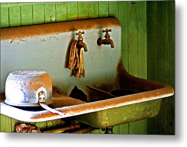 Bodie Water Fixtures Metal Print