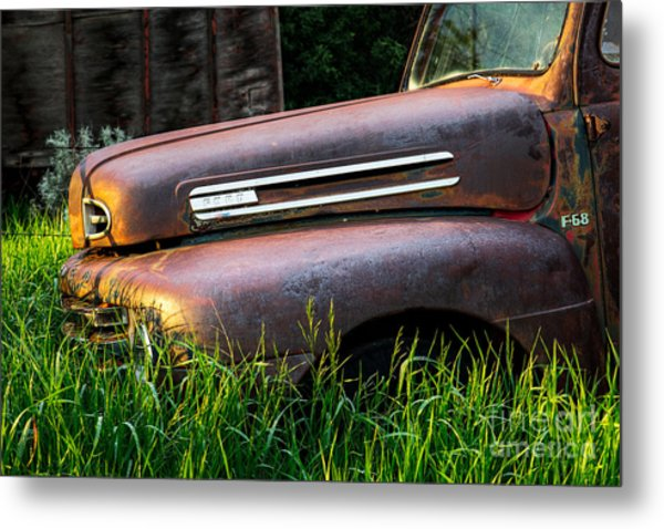 Body Needs Work But Doesnt Run At All Metal Print by Royce Howland