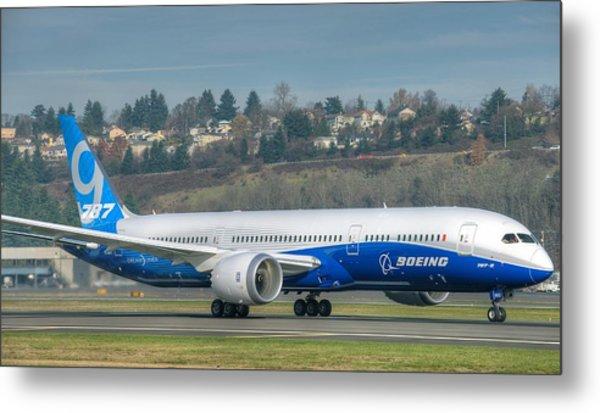 Boeing 787-9 Takeoff Metal Print