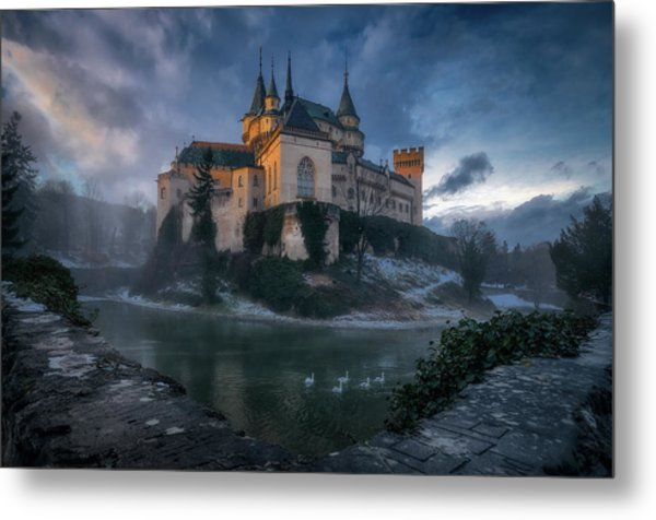 Bojnice Castle Metal Print