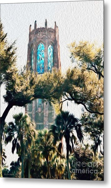 Bok Singing Canopy Tower Metal Print
